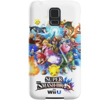 Super Smash Bros. for Wii U [Full Art] Samsung Galaxy Case/Skin