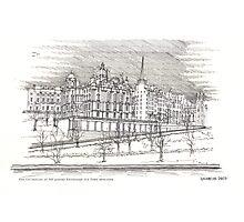 The Edinburgh Old Town Photographic Print