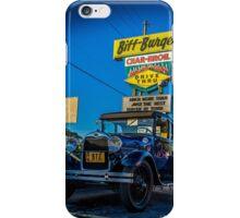 Biff Burger Car Show iPhone Case/Skin