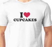 I love Cupcakes Unisex T-Shirt