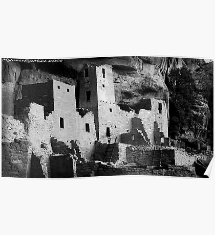#574  Cliff Dwellings At Mesa Verde National Park  Poster