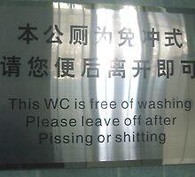 Chinglish Attack! by ozecard