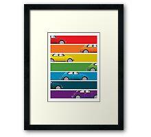 Bug Spectrum Framed Print