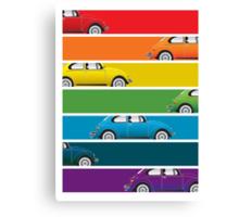 Bug Spectrum Canvas Print