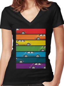 Bug Spectrum Women's Fitted V-Neck T-Shirt