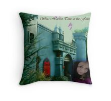 Wine Harvest at the Faire Throw Pillow