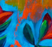 Dancing Tulips Sticker
