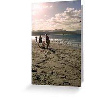 Beach Cricket Greeting Card