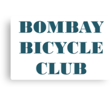 BOMBAY BICYCLE CLUB LOGO Canvas Print