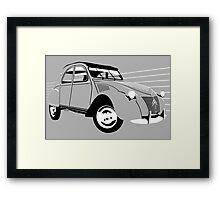 Citroën 2CV early model Framed Print
