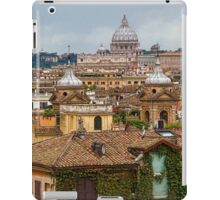 Messy, Fascinating and Wonderful - the Roofs of Rome iPad Case/Skin