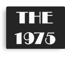 THE 1975 LOGO Canvas Print