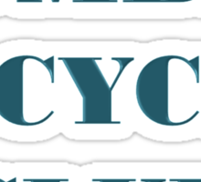 BOMBAY BICYCLE CLUB LOGO Sticker