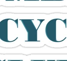 BOMBAY BICYCLE CLUB LOGO Sticker