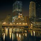 Chicago River 2008 by delobbo