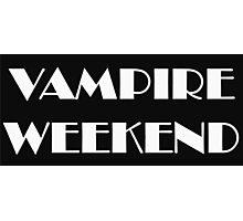 VAMPIRE WEEKEND Photographic Print