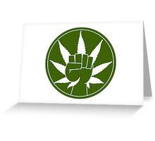 Weed Greeting Card