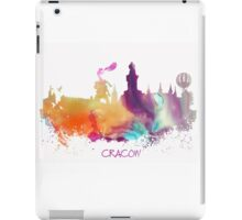 Cracow Poland skyline iPad Case/Skin