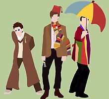 Mix-Matched Doctors From Doctor Who by ImprobableHope