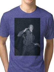 Ian Curtis Tri-blend T-Shirt
