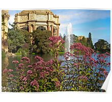 Outside the Palace of Fine Arts Poster