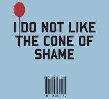 Cone of Shame by upsidedownRETRO