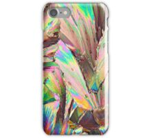 Healthy and small: Malic acid under the microscope iPhone Case/Skin