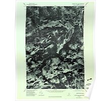 Maine USGS Historical Map Canada Falls Lake 806581 1979 24000 Poster