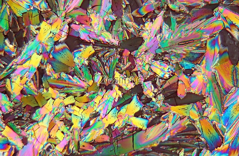Quot Healthy Crystals Malic Acid Under The Microscope Quot Laptop