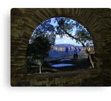 Perfect view Canvas Print
