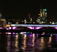 City lights - London  by Bumchkin