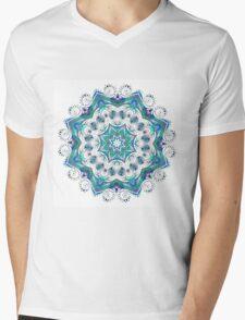 Beautiful card with mandala Mens V-Neck T-Shirt