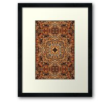clever rust  Framed Print