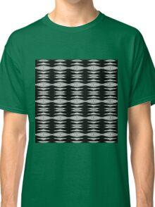 black zigzag diamonds Classic T-Shirt