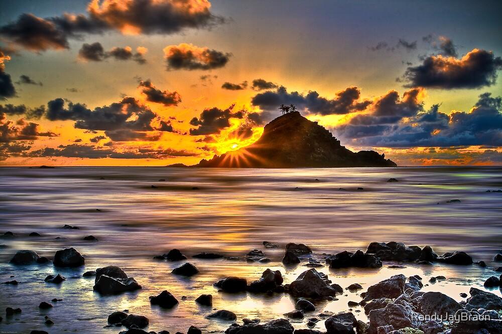 First Light on Hana, Maui by Randy Jay Braun