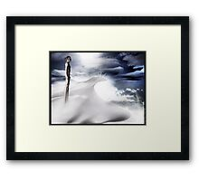 A Greater Being Framed Print