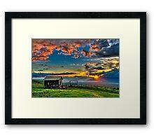 The Salt Barn Framed Print