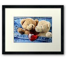 Sweethearts First Lodge Framed Print