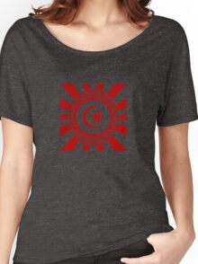 Mandala 34 Colour Me Red Women's Relaxed Fit T-Shirt