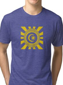 Mandala 34 Yellow Fever  Tri-blend T-Shirt