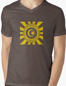 Mandala 34 Yellow Fever  Mens V-Neck T-Shirt
