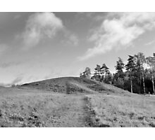 Where The Vikings Came From B&W Photographic Print