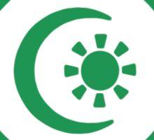 Mandala 34 Green With Envy  Sticker