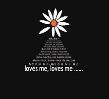 loves me, loves me....... Womens Fitted T-Shirt