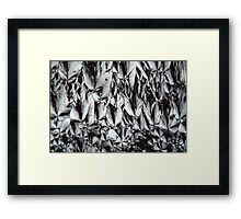 Micro Killers: Cholesterol crystals under a microscope Framed Print