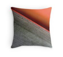 Lines In Nature Throw Pillow