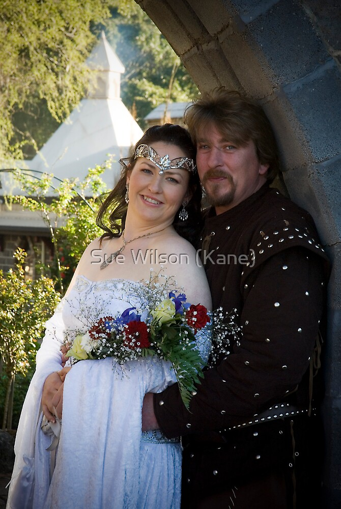 The happy couple by Sue Wilson (Kane)