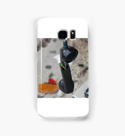 cant get a dial tone Samsung Galaxy Case/Skin