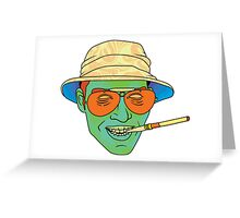 Duke (Fear and Loathing in Las Vegas) Greeting Card
