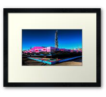 Fairground Attraction (Off-Season) Framed Print